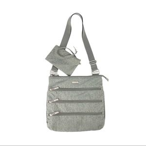 Baggallini Crossbody Big Zipper Bagg RFID Wristlet